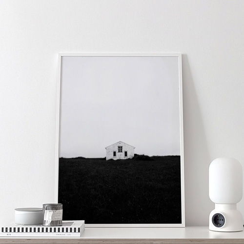 LONELY HOUSE(50x70cm)[COCO LAPINE DESIGN]